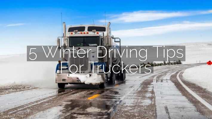 5 Winter Driving Tips For Truckers