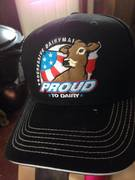 Jersey PTD hats at the PJCA annual meeting.