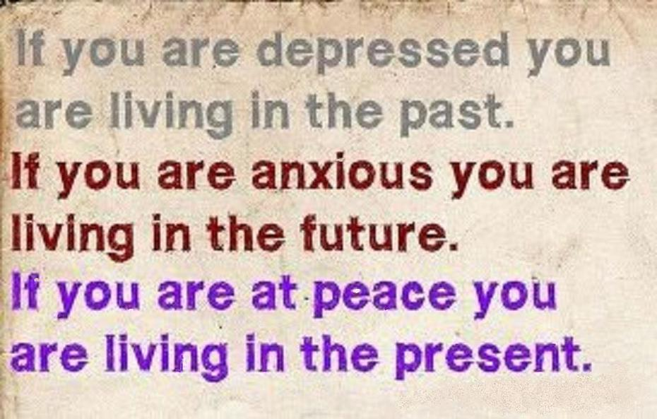 if you're depressed...