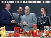 They think there is food in our food