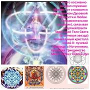 На рисунке использована схема  матрицы Цветка Вселенской Духовной Мудрости и Любви разработанная Е.Н.Вселенским опираясь на сакральные знания и матрица Цветка Жизни(шестилепестковая)