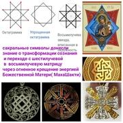 Символы передающие знания о Духовной эволюции