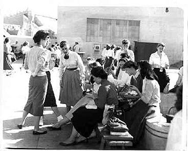 The Quad in 1955