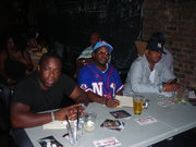 (L-R) ZAIRE (DIRECTOR) DJ SINCERE & REL (PRODUCER) JUDGING THE R&B SHOWCASE