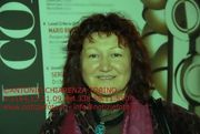 "Elisabetta at the festival of the Cinema in Turin. - The photo was made from the journalist and photo reporter   Antonio Chiarenza  - Newspaper:  ""Notiziefoto"" - 13 November 2009"