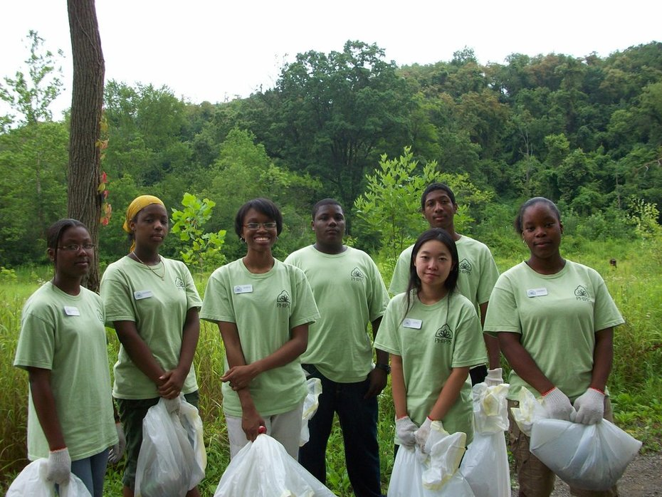 Cleaning up a Pittsburgh watershed!