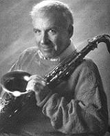image of saxophonist Gordon Brisker