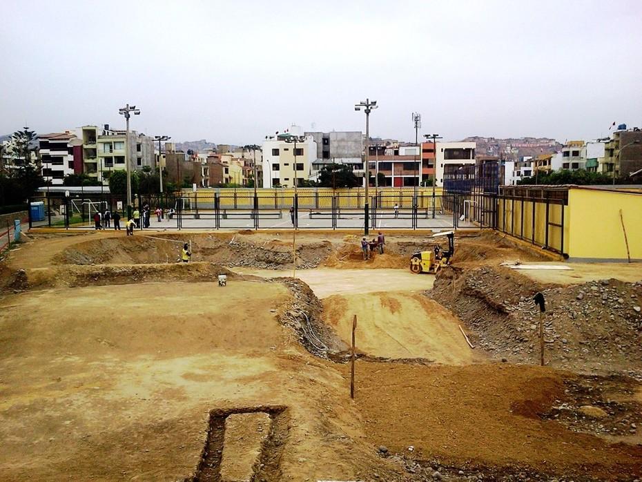 SKATEPARK SURCO LOMA AMARILLA EN CONSTRUCCION