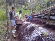 Agricultura con una familia de la cooperativa COCASJOL