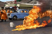 The Burning Monk Thich Quang Duc, real name Lam Van Tuc