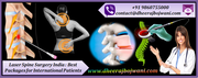 Laser Spine Surgery India: Best Packages for International Patients