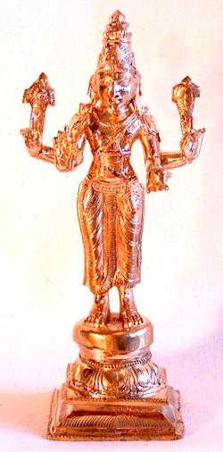 Dhanwanthari, der Schutzherr des Ayurveda