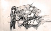 1406024926_827_Ramkumar_Pen_Ink_Drawing_on_Paper_13.80_X_8_.4_in_1963_
