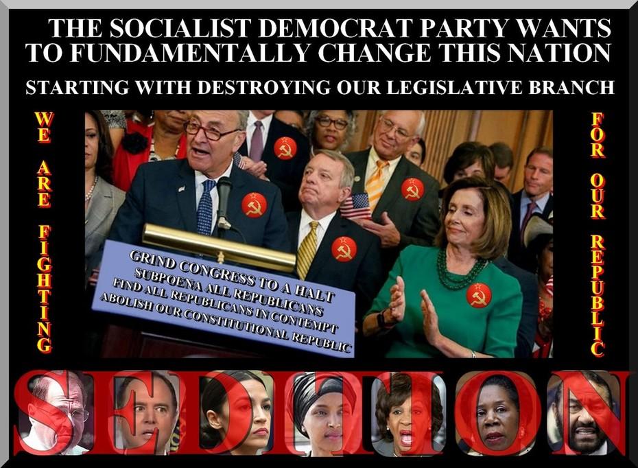 Socialist Democrat Party Of Sedition