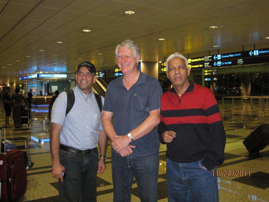 Mr Manuel,Mr Morris and Mr Rafael