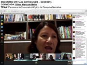 Encontro Virtual GETED 04/05/2015