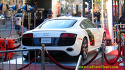 Audi R8 on Hollywood Walk of Fame