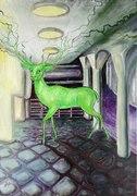 Der strahlende Hirsch