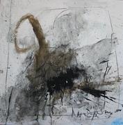 Nr.2016-06,Nordstemmen II, Mischtechnik, 80 x80 cm