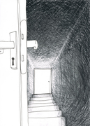 Illustration für Kurzgeschichte: Maria_grafit_A4