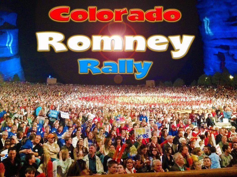 Colorado Romney Rally!