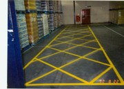 warehouse floor grid