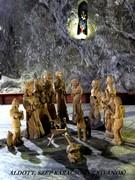 Betlehem a parajdi sóbányában