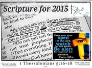 Scripture for 2015