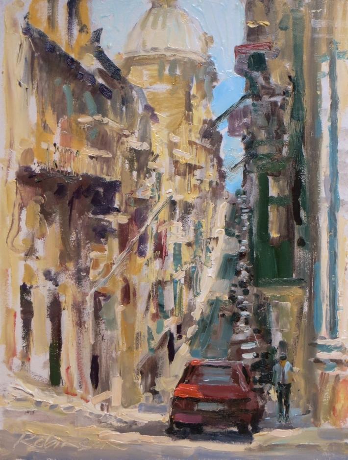 A Street in Valletta..