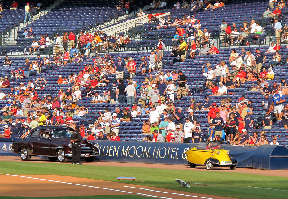 Turner Field Saturday August 8th