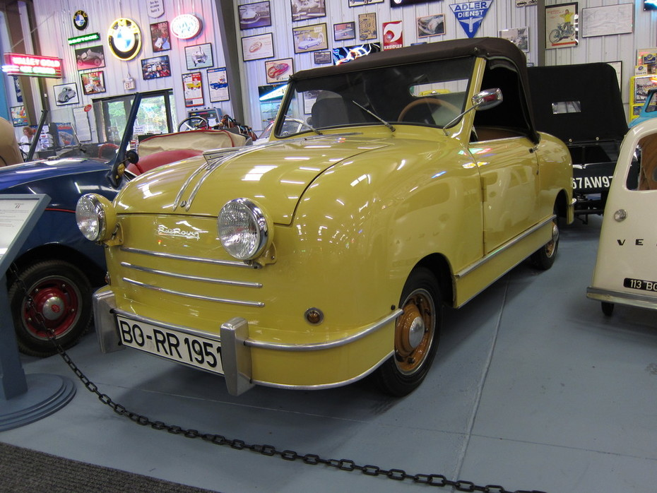 The new 1953 Rovin D4