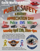 Public Safety & Military Appreciation Day @ Cycle World