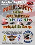 Public Safety & Military Appreciation Day -Bogart, GA