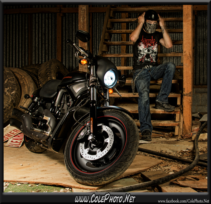 V-Rod Photoshoot