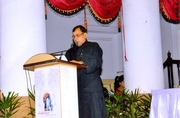 Dr. Kumar addresses the World Confluence  on Humanity, Power and Spirituality in Kolkata, India