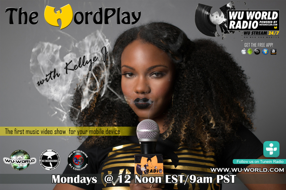 The Wordplay WIth Kellye J Flyer 2