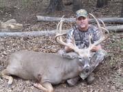Johnny walker with his huge 193 7/8 in buck