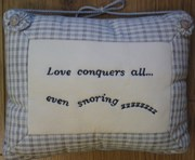 Cushion - Love Conquers All....