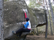 Annot bouldering