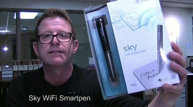 SLJ Reviews the Sky Wifi Smartpen