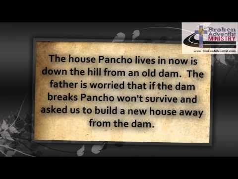 Pancho needs a new house