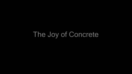 The Joy Of Concrete