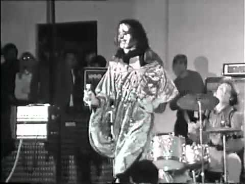 CARL PALMER with The Crazy World of Arthur Brown 1968.
