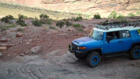 Z-Turn on Moab Rim