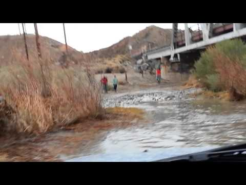 Afton Canyon First Water Crossing 20150111