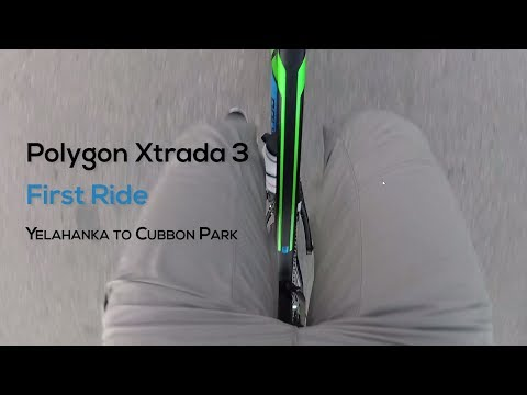 2017 Polygon Xtrada 3 | First Ride | Yi 4k