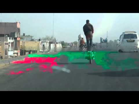 Indian Dare Devil Cyclist