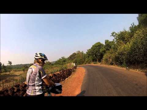 Pushpesh Baid shares cycling video clip of India Konkan Coastline