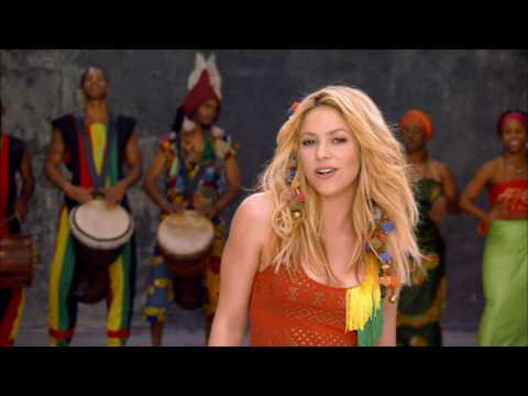 Shakira - Waka Waka, no not the root juice :)