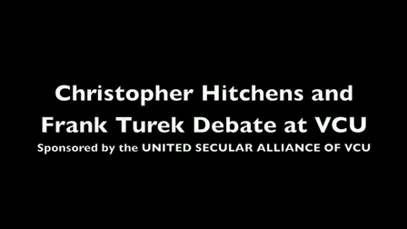 Christopher Hitchens at VCU